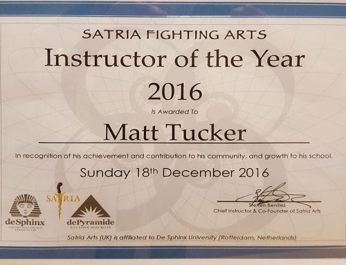 Instructor of the year 2016