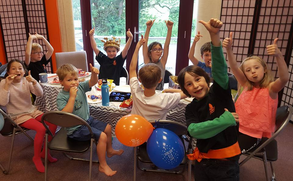 Kids Parties at Warrior Arts & Fitness